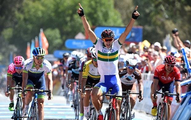 Steele von Hoff, UniSA-Australia, sprint, pic: Tour Down Under