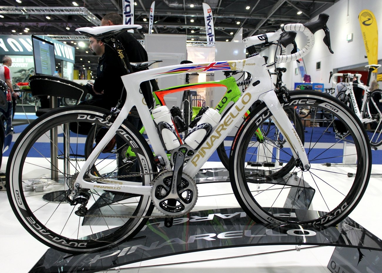 London Bike Show 2015: 'Wiggo' Pinarello Dogma F8 (Pic: George Scott/Factory Media)