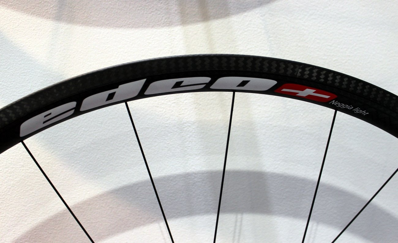 London Bike Show 2015: Edco Supersport Neggia wheelset, carbon fibre rim (Pic: George Scott/Factory Media)