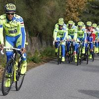 Tinkoff-Saxo, training, acceleration, Alberto Contador, pic: Luca Bettini/Tinkoff-Saxo