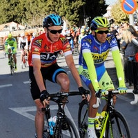 Chris Froome, Alberto Contador, Ruta del Sol, 2015, Team Sky, Photo: Vuelta Ciclista a Andalucía
