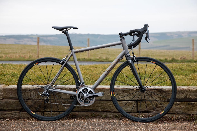 Enigma Evade titanium endurance bike