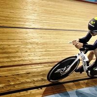 Alex Dowsett. Canyon Speedmax WHR, track, UCI Hour Record, pic: Rene Zeigler/Canyon