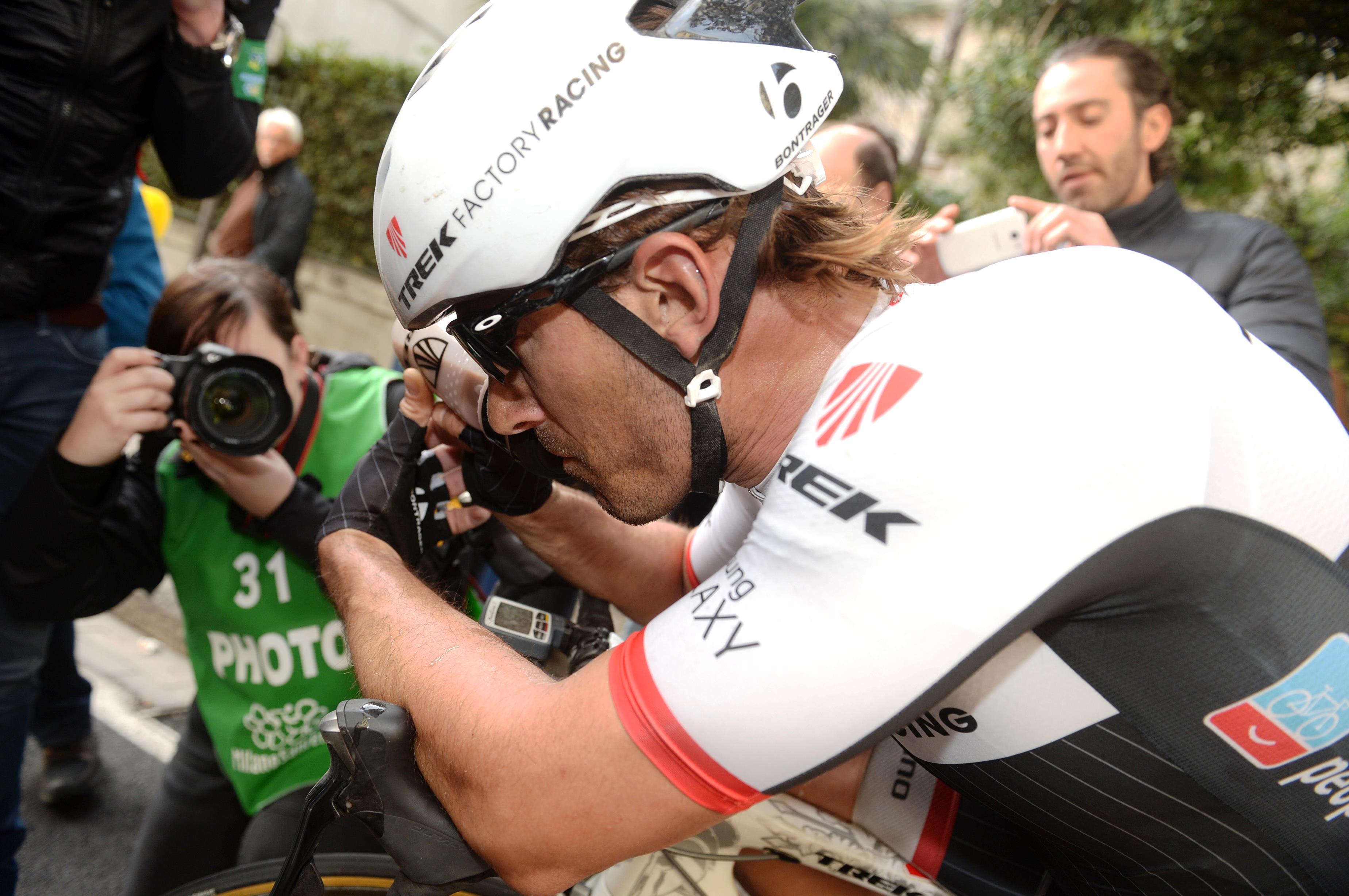 Fabian Cancellara, Trek Factory Racing, Milan-San Remo, 2015, pic: Sirotti
