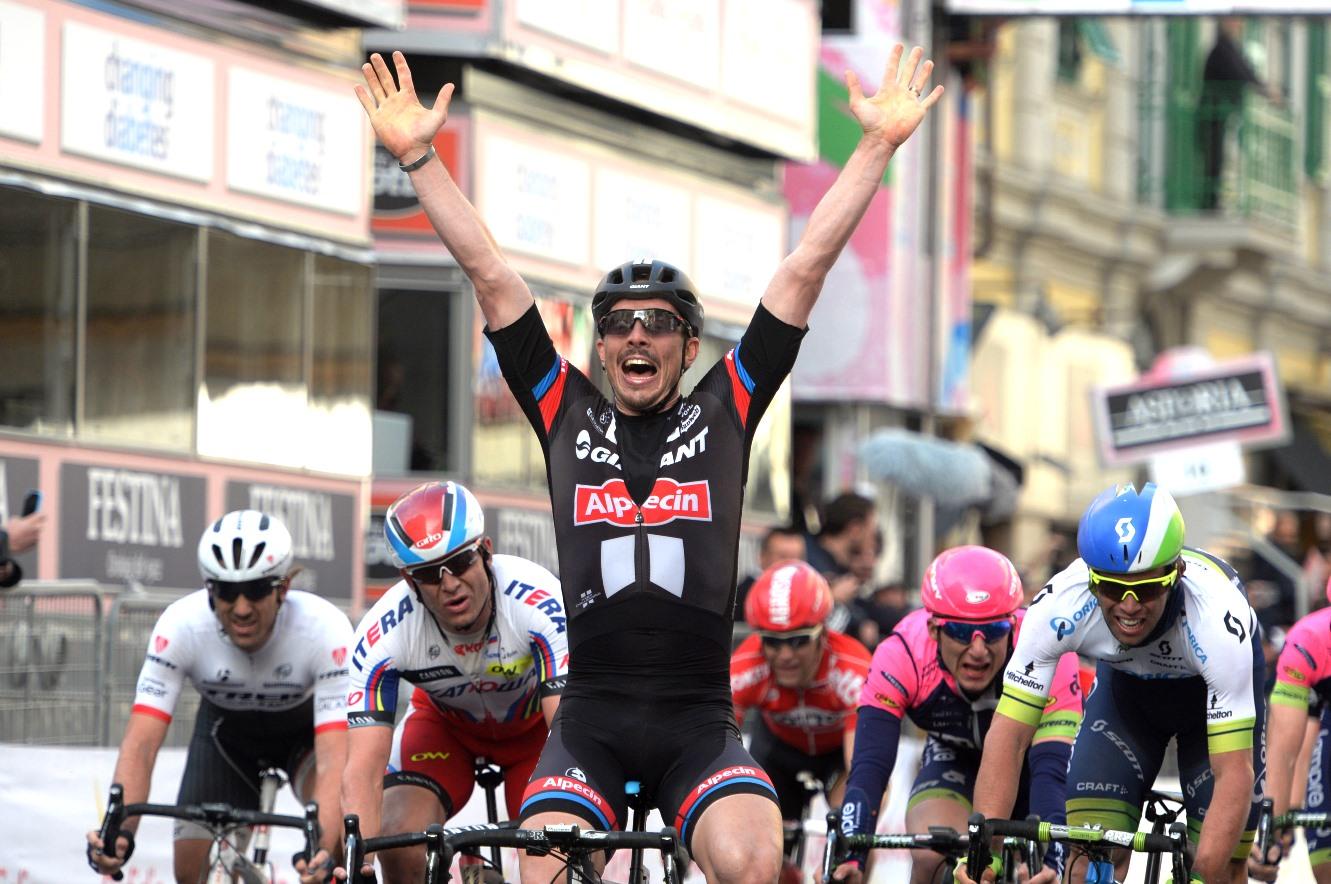 John Degenkolb, Giant-Alpecin, Milan-San Remo, 2015, pic: Sirotti