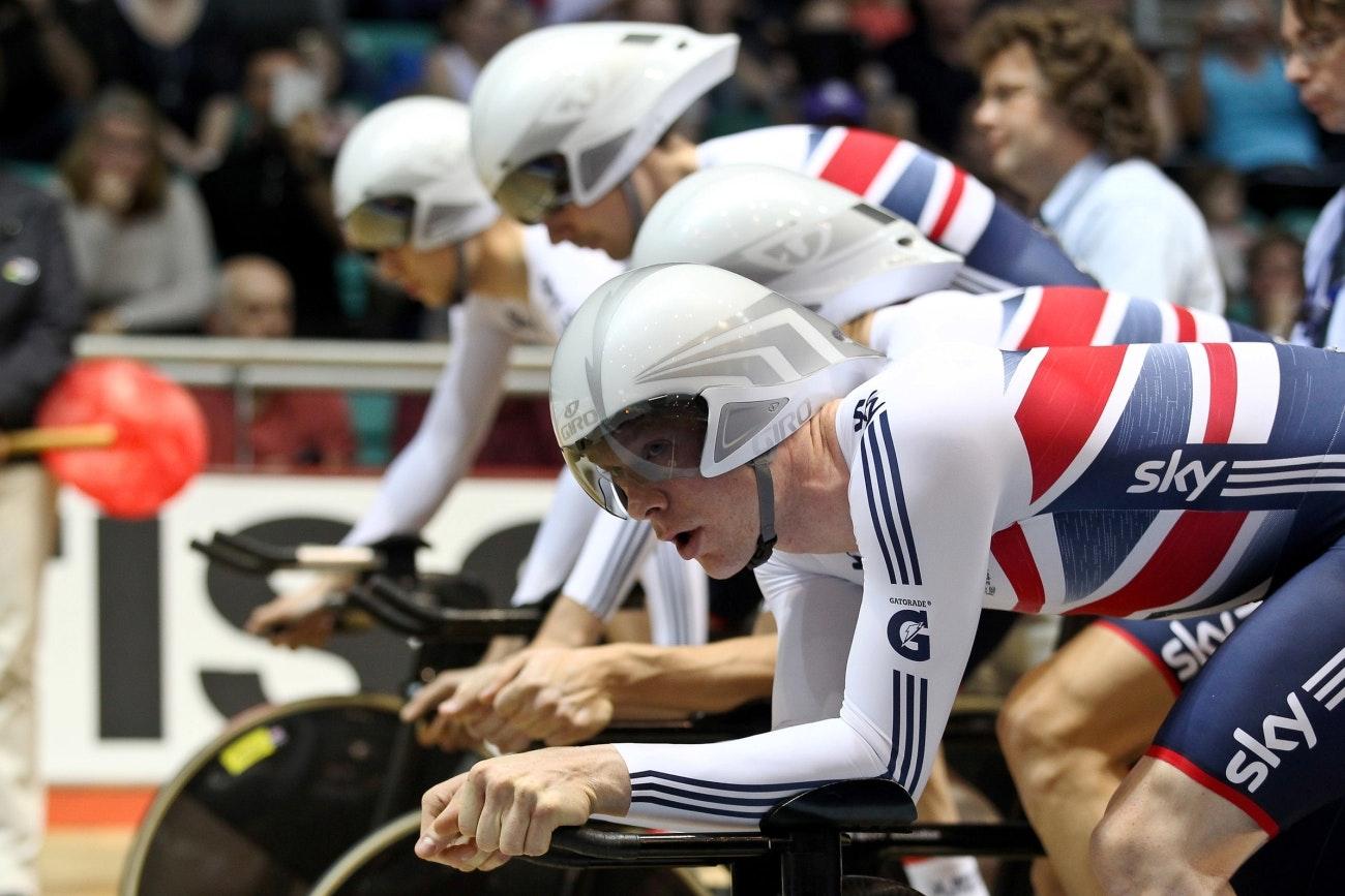 Ed Clancy, team pursuit, track, start, pic: Alex Whitehead/SWpix.com