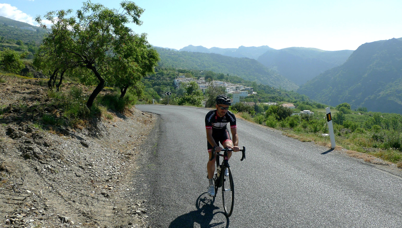 Tom Kirk, climbing, training, training camp, mountains, Etape du Tour, sportive