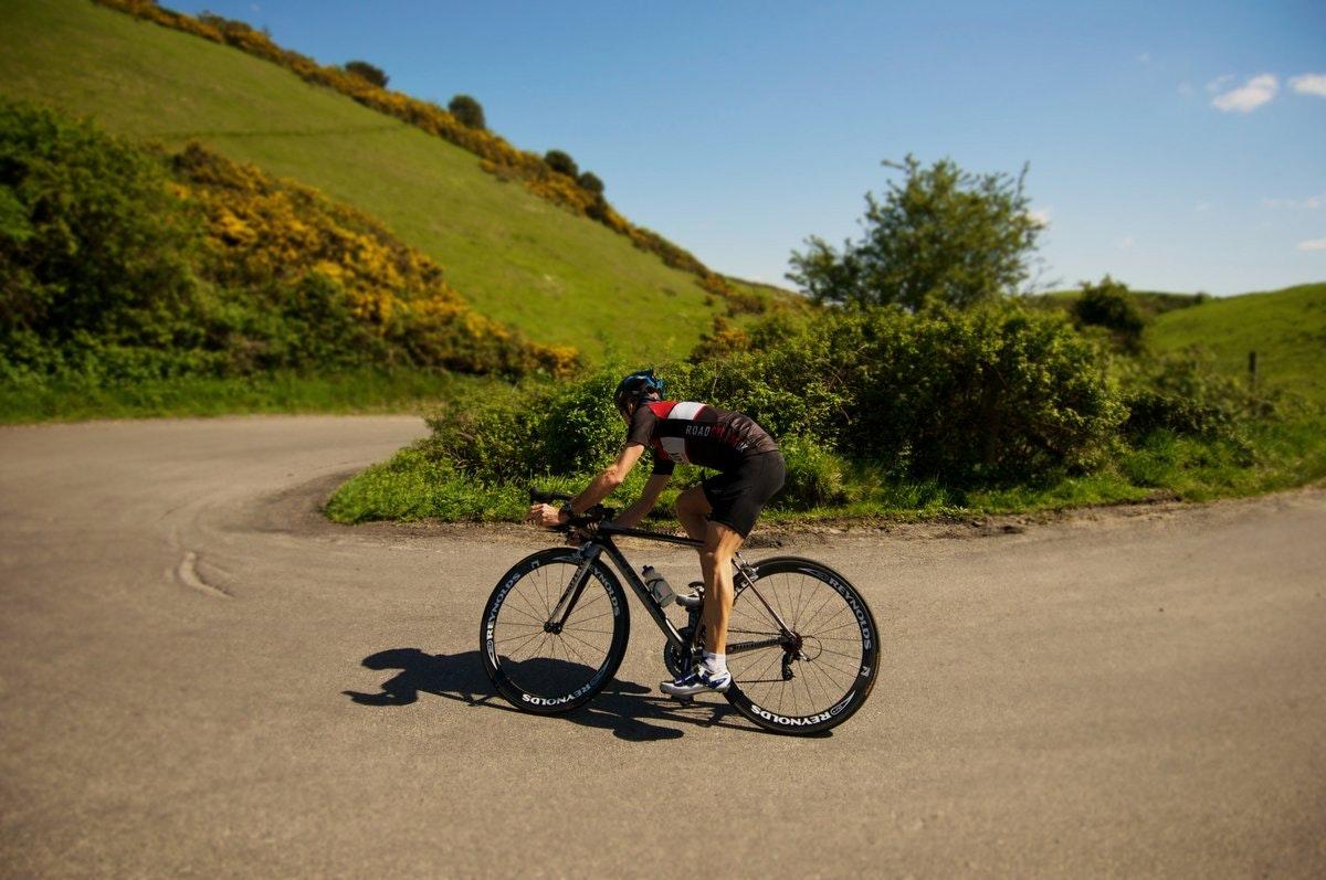 RCUK jersey, descent, descending, summer, sun