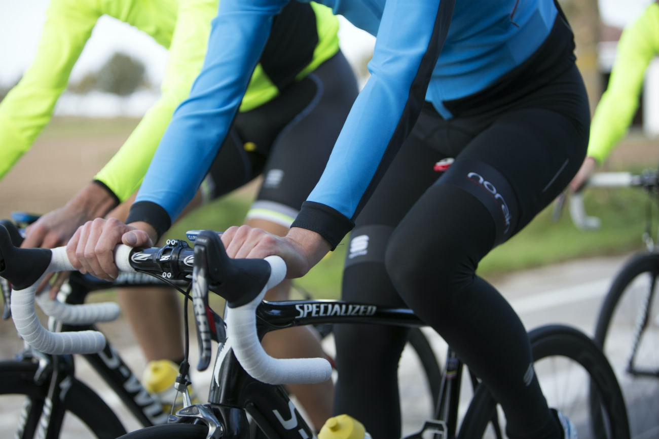 Sportful Fiandre launch, group, riding, training