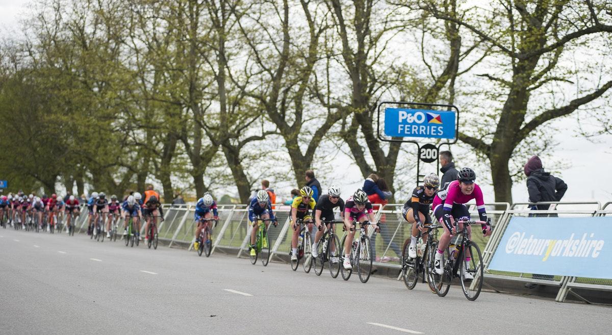 Eileen Roe, Katie Archibald, Women's Tour de Yorkshire, pic: Allen McKenzie/SWpix.com