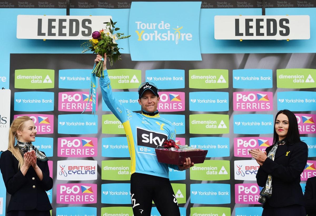 Tour de Yorkshire, 2015, Lars Petter Nordhaug, Team Sky, (pic: Alex Broadway/SWpix.com)