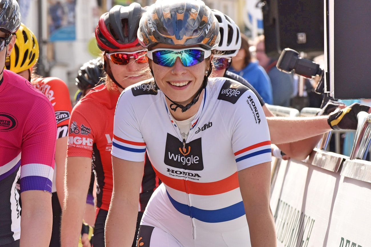 Eileen Roe, Wiggle-Honda, British Champion, criterium, pic: The Tour