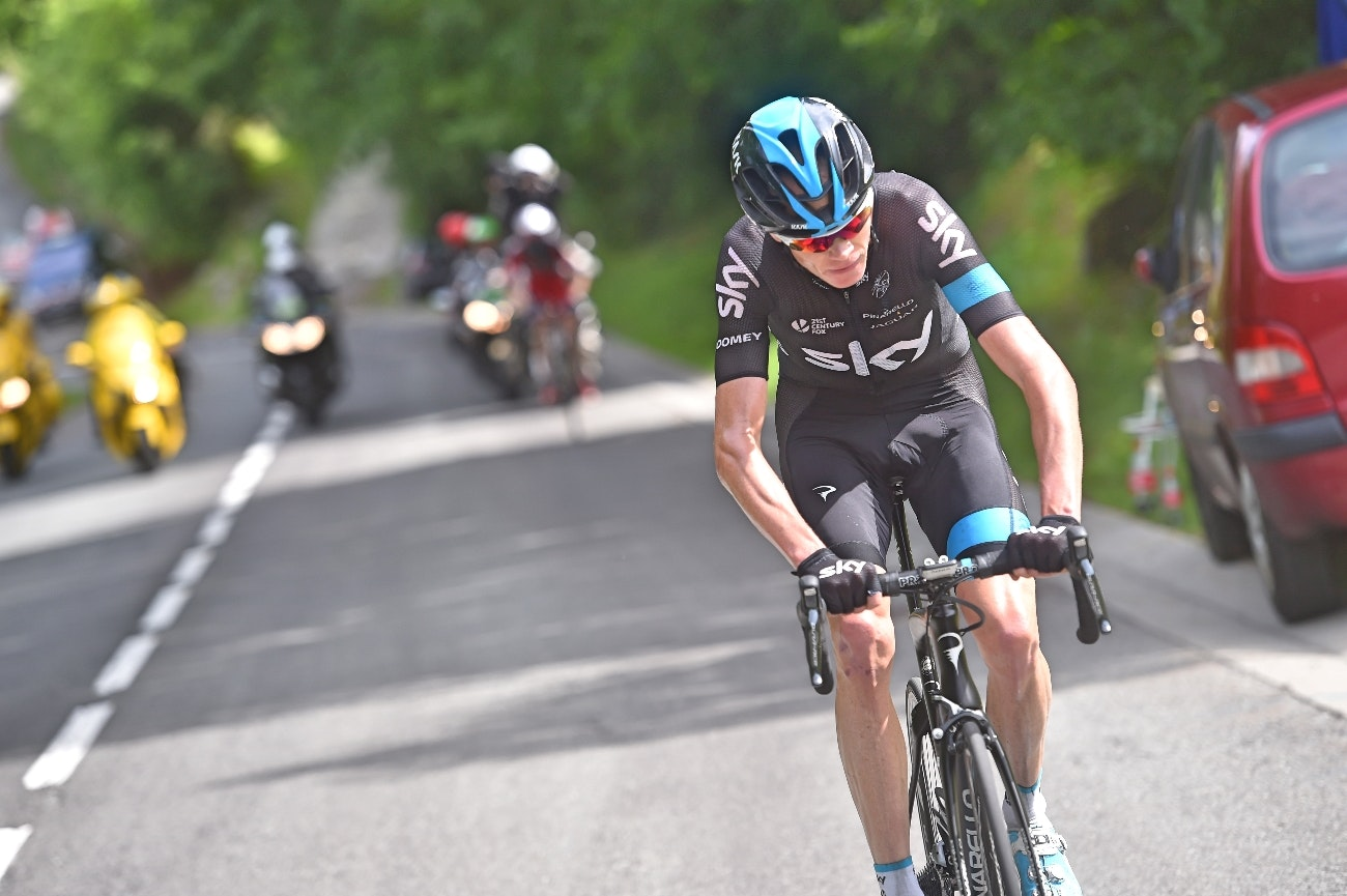 Chris Froome, Team Sky, 2015, pic: Sirotti