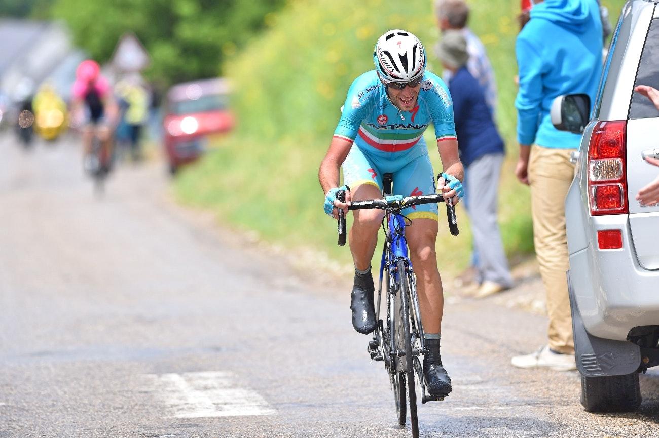 Vincenzo Nibali, Astana, Criterium du Dauphine, attack, climb, seated, FTP, pic: Sirotti
