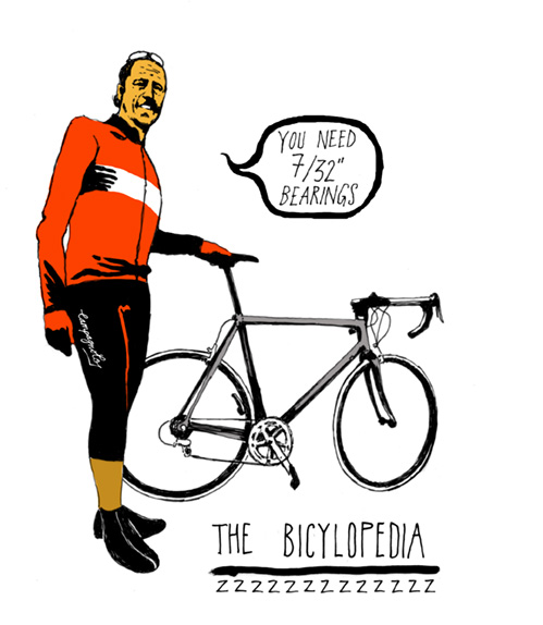Six types of sportive rider: The Bicyclopedia