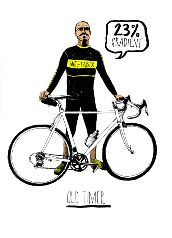 Six types of sportive rider: The Old Timer