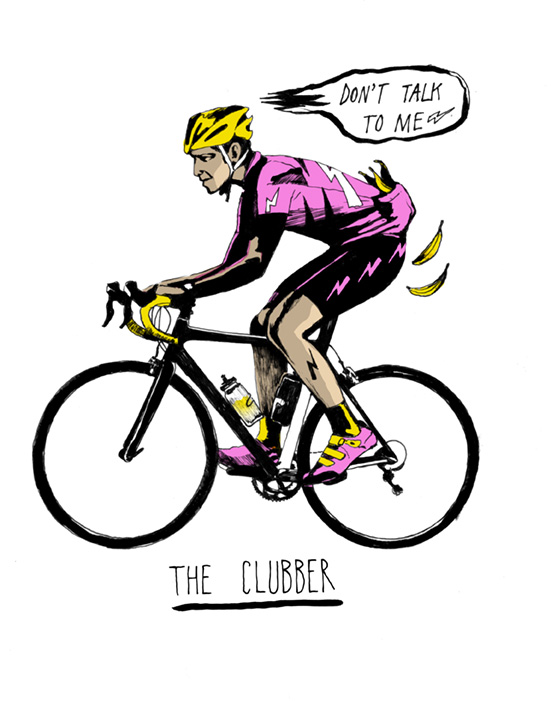 Six types of sportive rider: The Clubber