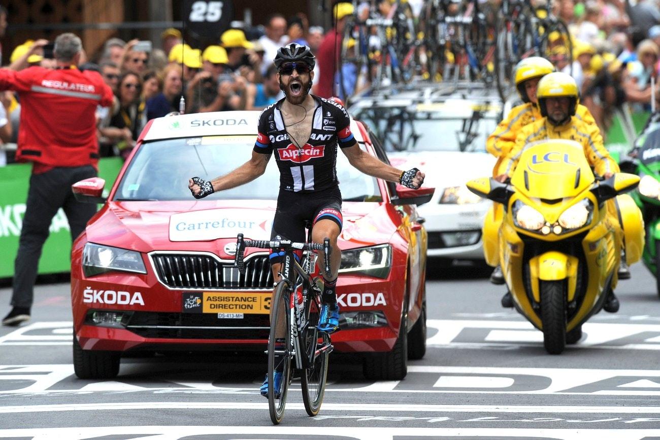 Tour de France 2015 stage 17, Simon Geschke, win, victory, climb