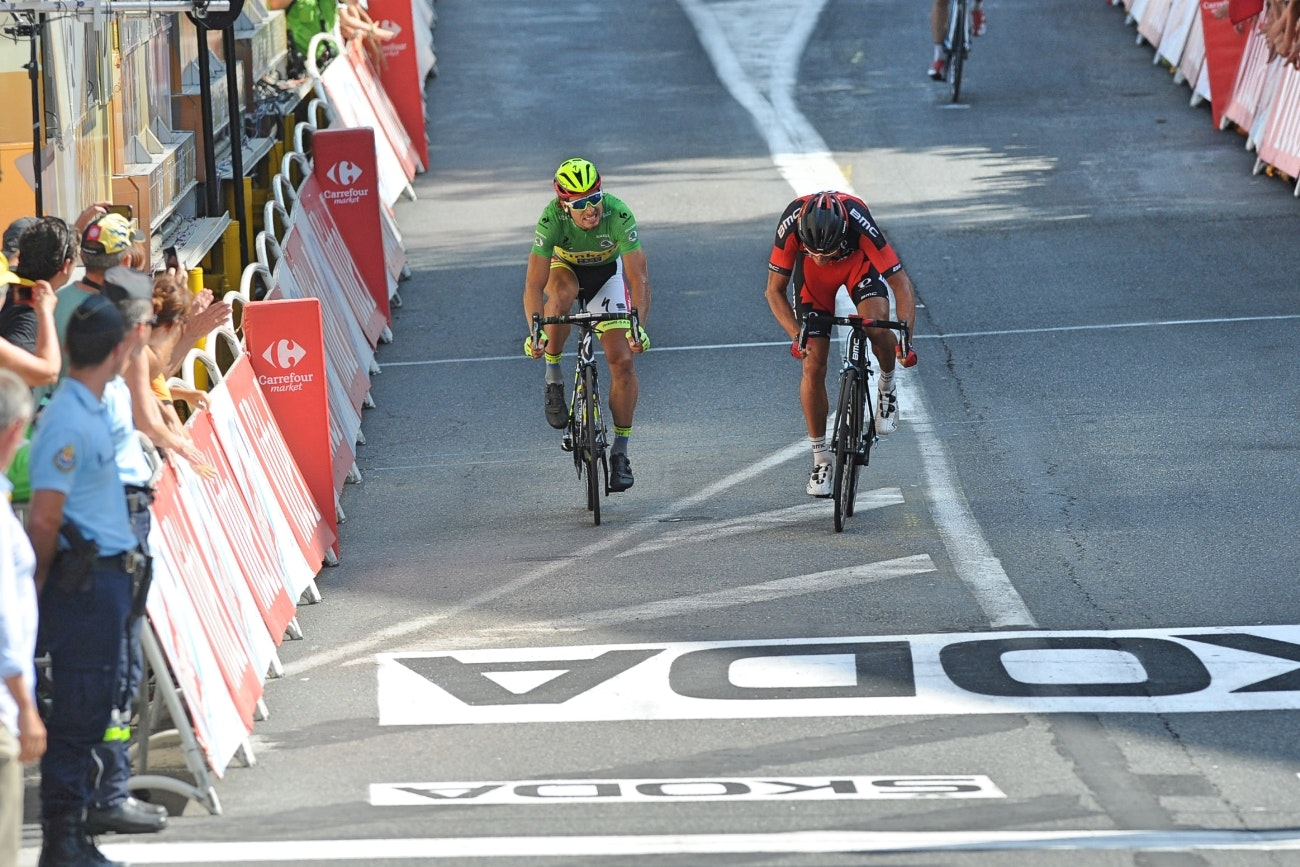Peter Sagan, Greg van Avermaet, Tour de France, 2015, stage 13, pic - Sirotti