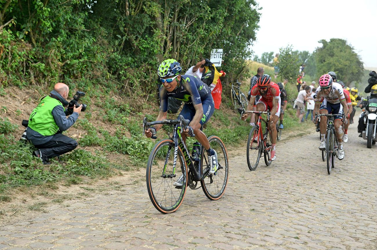 Tour de France 2015: Nairo Quintana, cobbles