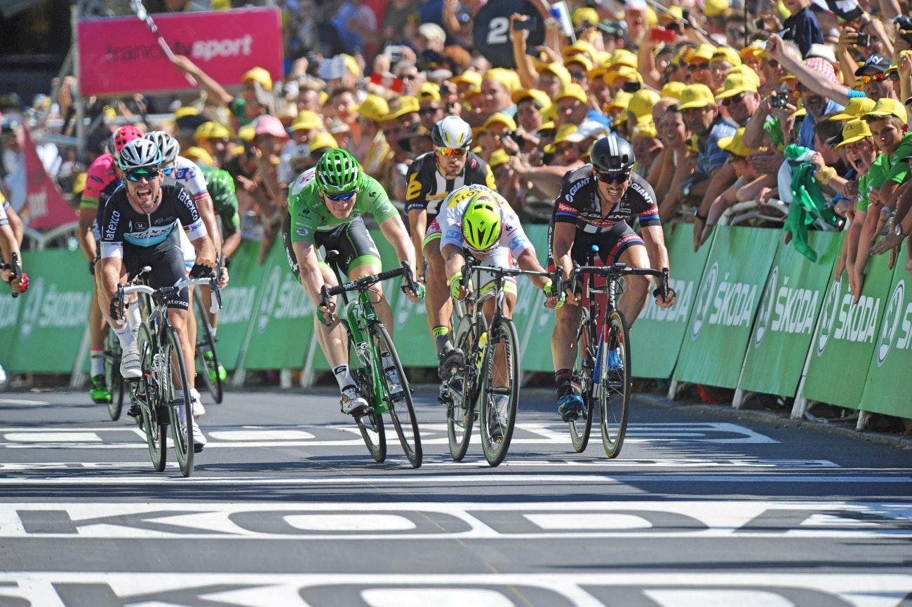 sprint, Tour de France, stage seven, pic - Sirotti