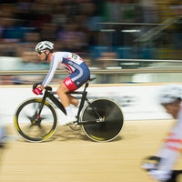 Revolution Series, track, Mark Cavendish, pic: Michael Poole