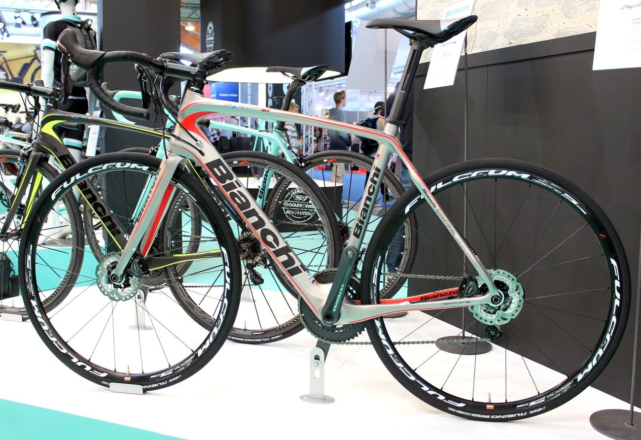Bianchi 2016 road bikes: Bianchi Infinito CV Disc road bike (Pic: George Scott/Factory Media)