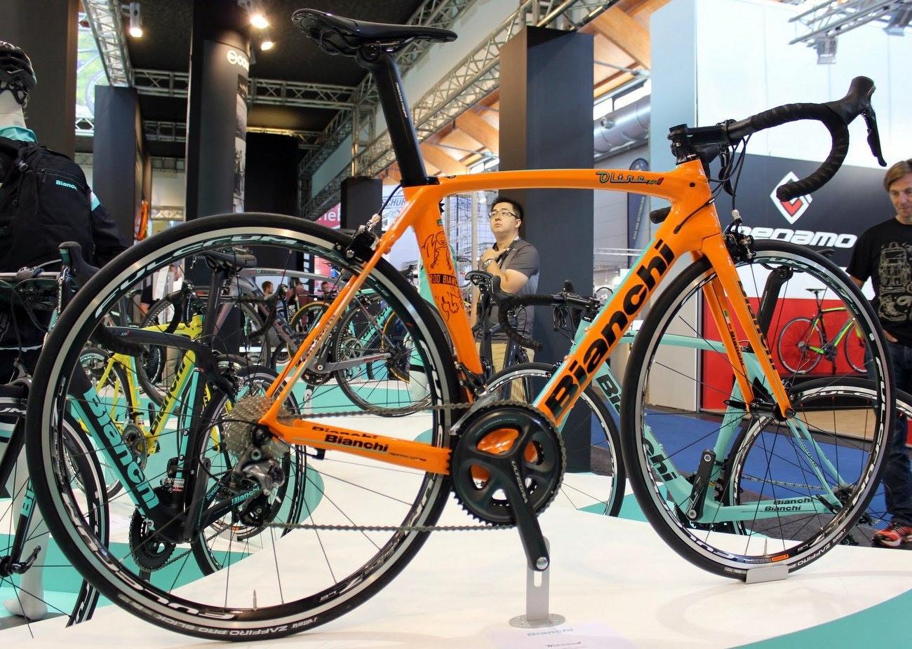 Bianchi 2016 road bikes: Bianchi Oltre XR1 road bike (Pic: George Scott/Factory Media)