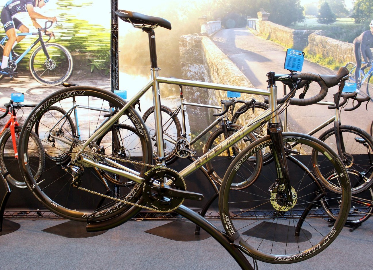 Cycle Show 2015: Kinesis GF_Ti Disc (Pic: George Scott/Factory Media)