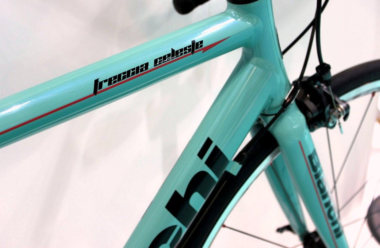 Bianchi 2016 road bikes: Bianchi Freccia Celeste road bike (Pic: George Scott/Factory Media)
