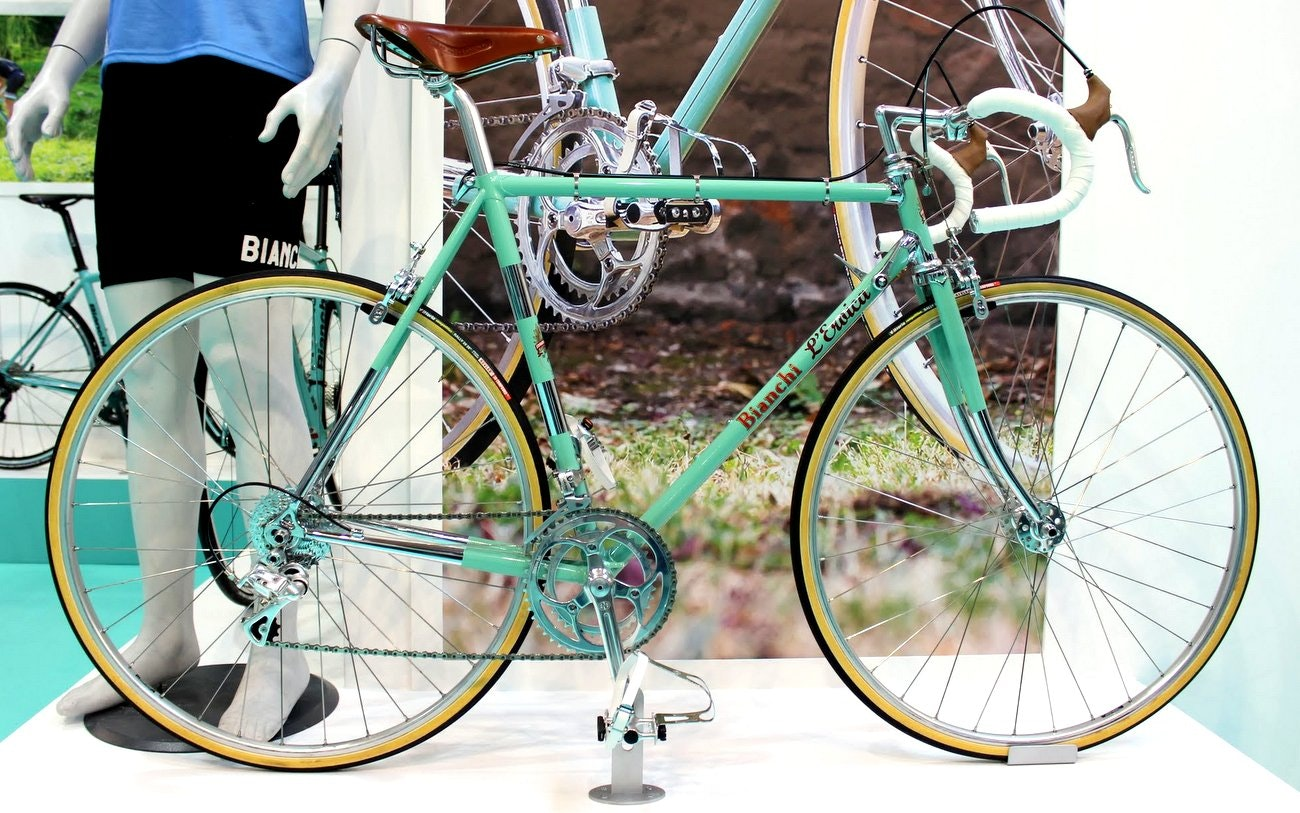 Bianchi 2016 road bikes: Bianchi L'Eroica road bike (Pic: George Scott/Factory Media)