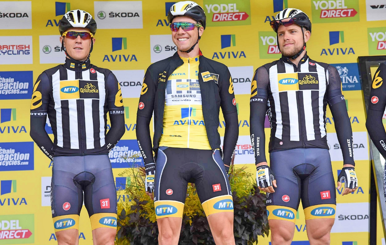 Edvald Boasson Hagen, MTN-Qhubeka, Tour of Britain, 2015, pic - The Tour