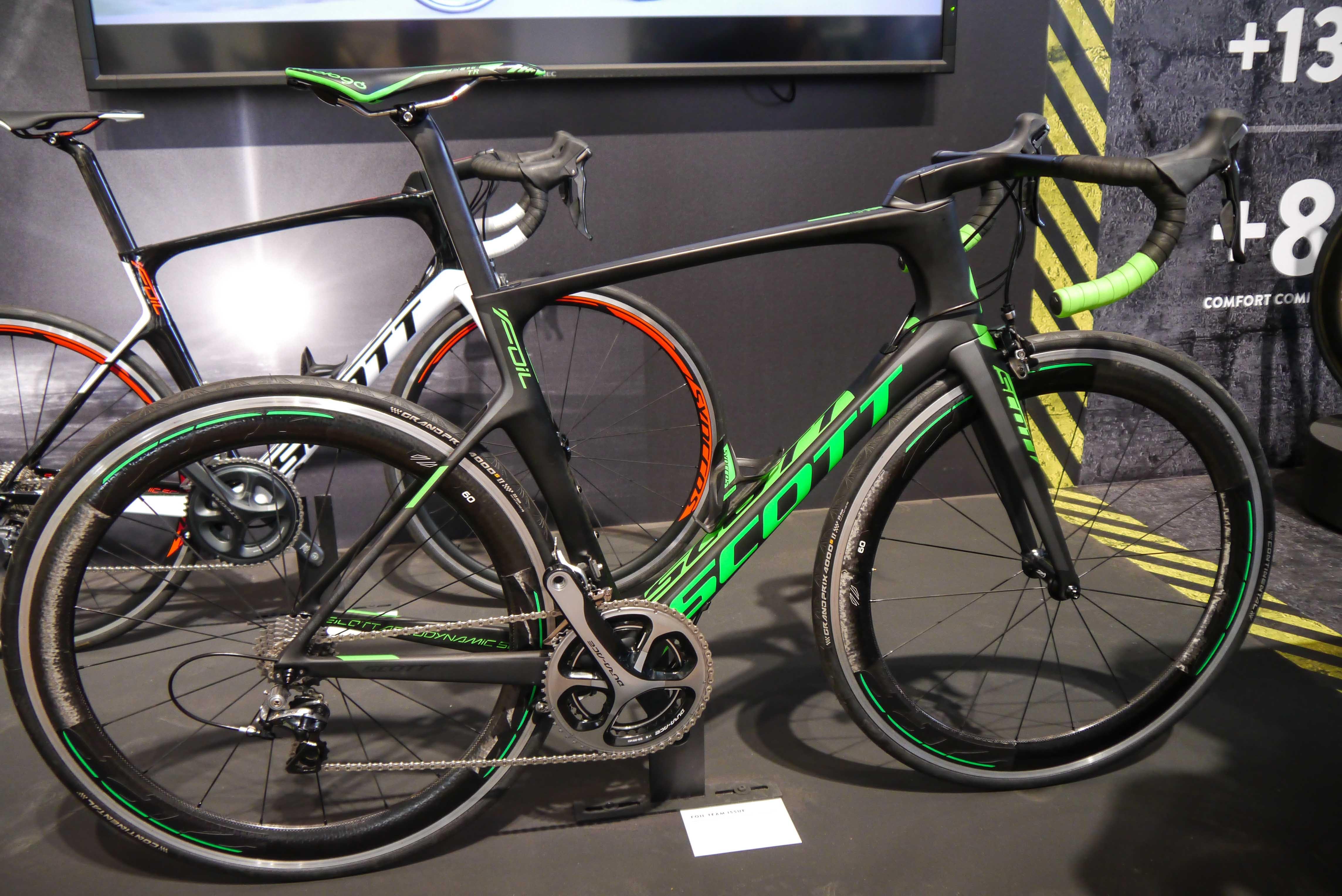 Scott Foil 2016 aero road bike