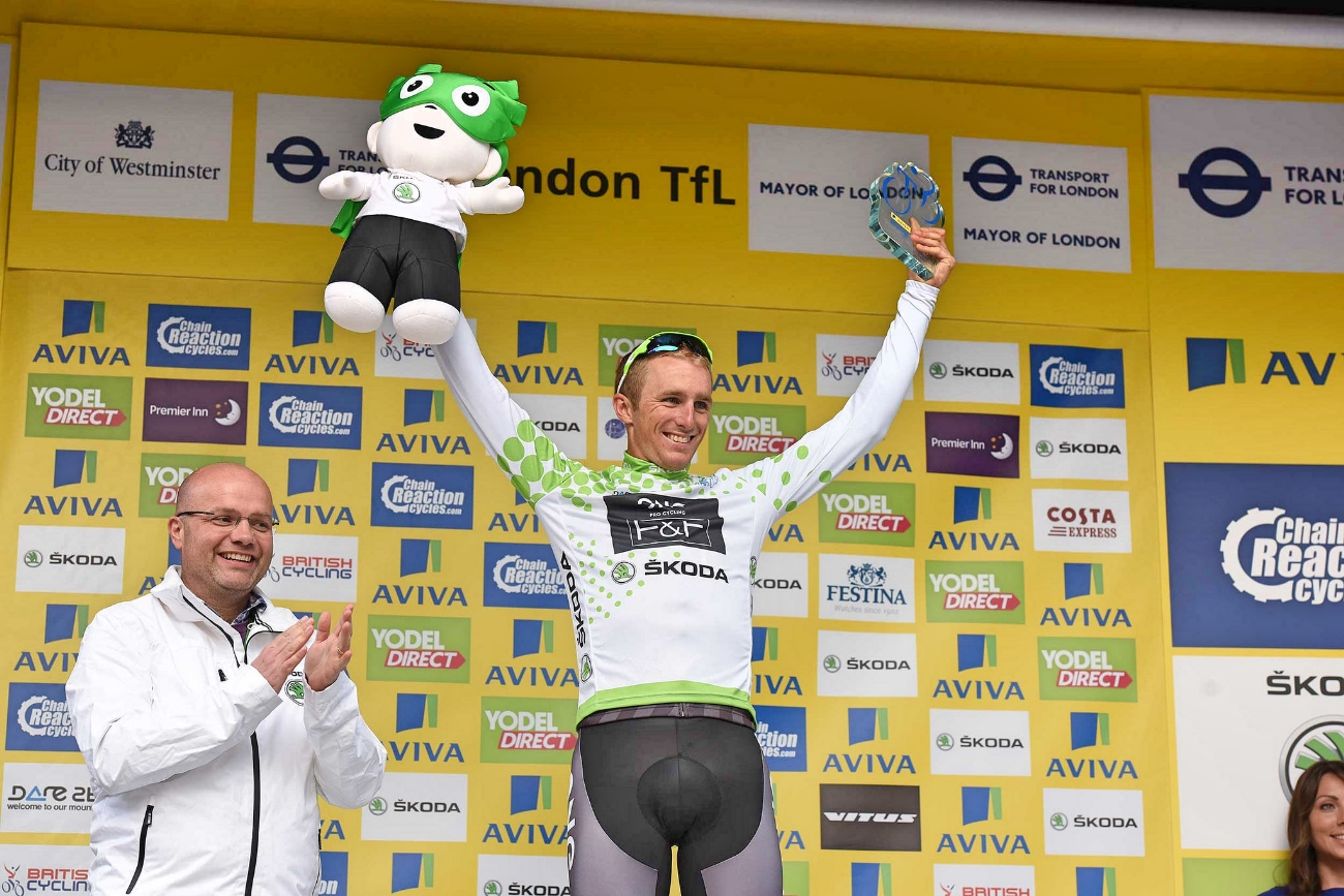 Peter Williams, One Pro Cycling, The Tour of Britain 2015, pic - The Tour