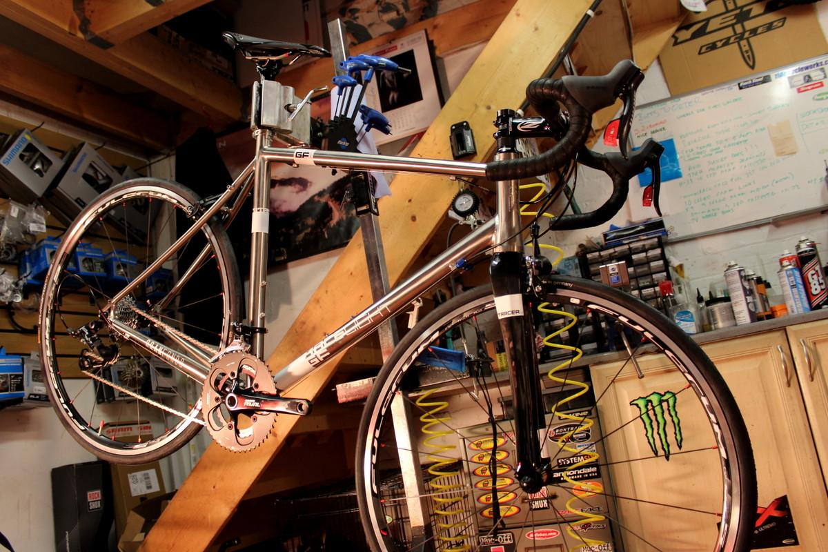 Bike build, Kinesis GF_Ti V2