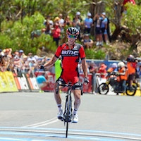 Richie Porte, Willunga Hill, BMC Racing, Tour Down Under, 2016, pic - Sirotti