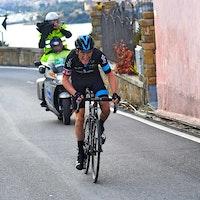 Geraint Thomas, attack, climb, Poggio, San Remo, pic - Sirotti