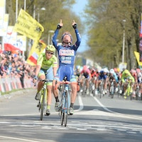 Enrico Gasparotto, Amstel Gold Race, tribute, sprint, Antoine Demoitie, Wanty-Groupe Gobert, pic - Sirotti