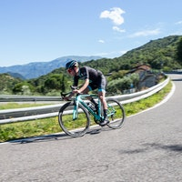 Bianchi Oltre XR4 road bike first ride review (Pic: Michele Mondini)