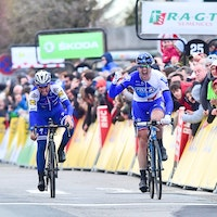 Arnaud Demare, Julian Alaphilippe, Paris-Nice, 2017, stage one, sprint, pic - ASO