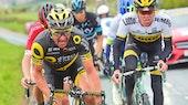 Thomas Voeckler, breakaway, Direct Energie, Tour de Yorkshire, 2016, pic - Alex Broadway-SWpix