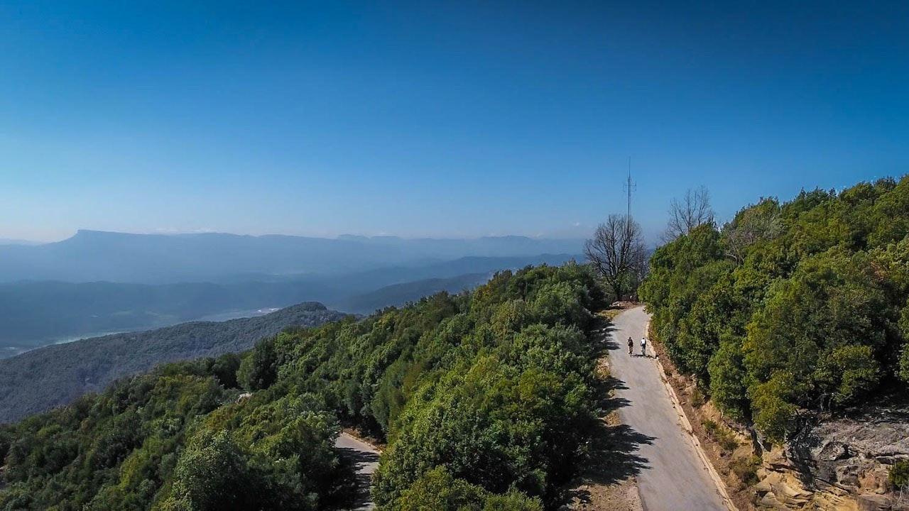 Rocacorba cycling climb, Col Collective, Girona