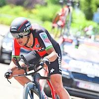 Richie Porte, time trial, BMC Racing, Criterium du Dauphine, 2017, pic - Sirotti