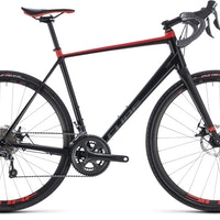 Cube NuRoad BlacknRed, adventure bike, 2018