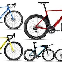 Canyon 2018 bikes collage