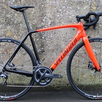 Specialized Tarmac SL5 Comp Disc road bike (Pic: Ashley Quinlan/Factory Media)