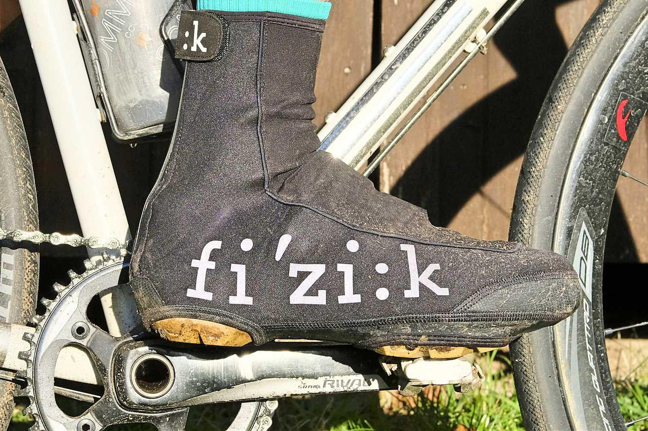 Fizik Bicycle Cycling Winter Shoe Covers Black All Sizes