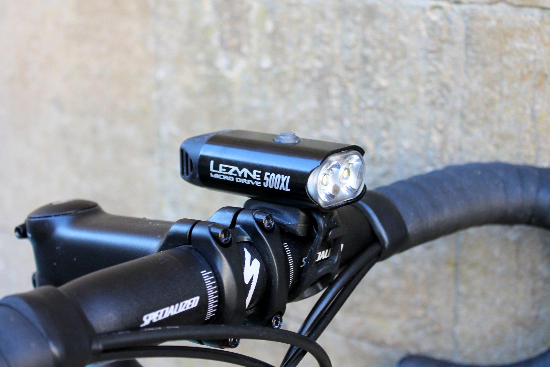 NEW Lezyne MINI DRIVE 400XL USB Rechargeable Bicycle Headlight PURPLE