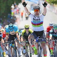 Peter Sagan, world champion, Tour Down Under, sprint (Pic: Tour Down Under/John Veage)