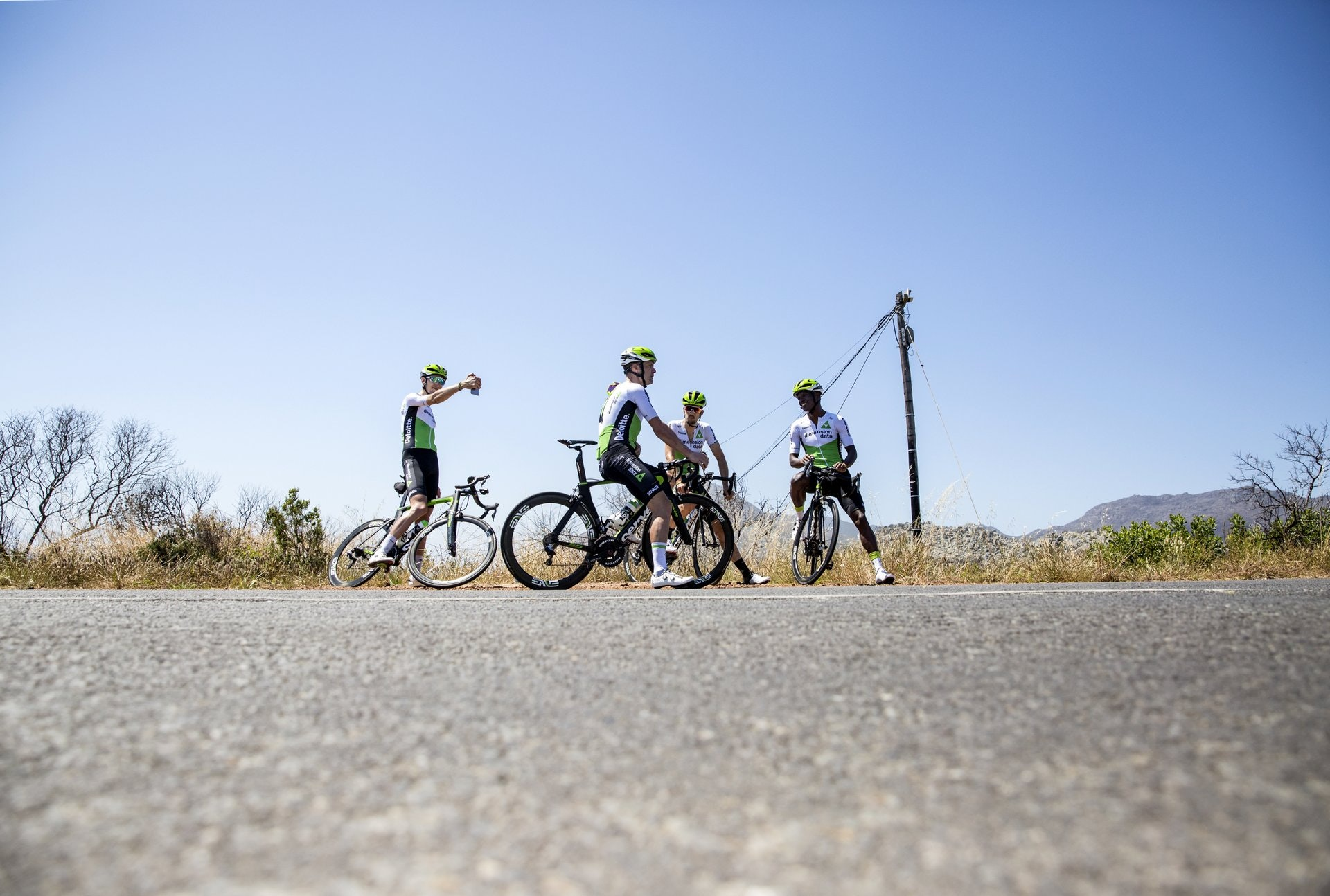 Team Dimension Data, South African training camp, riding (Pic: Scott Mitchell/Team Dimension Data)